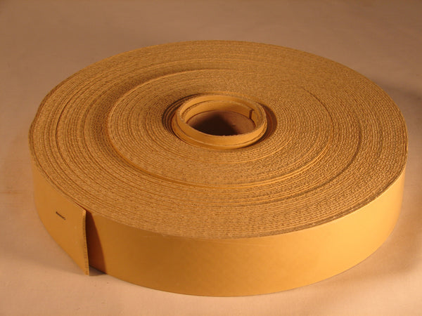 RUBBER WEBBING - STANDARD BEIGE 100FT ROLL.