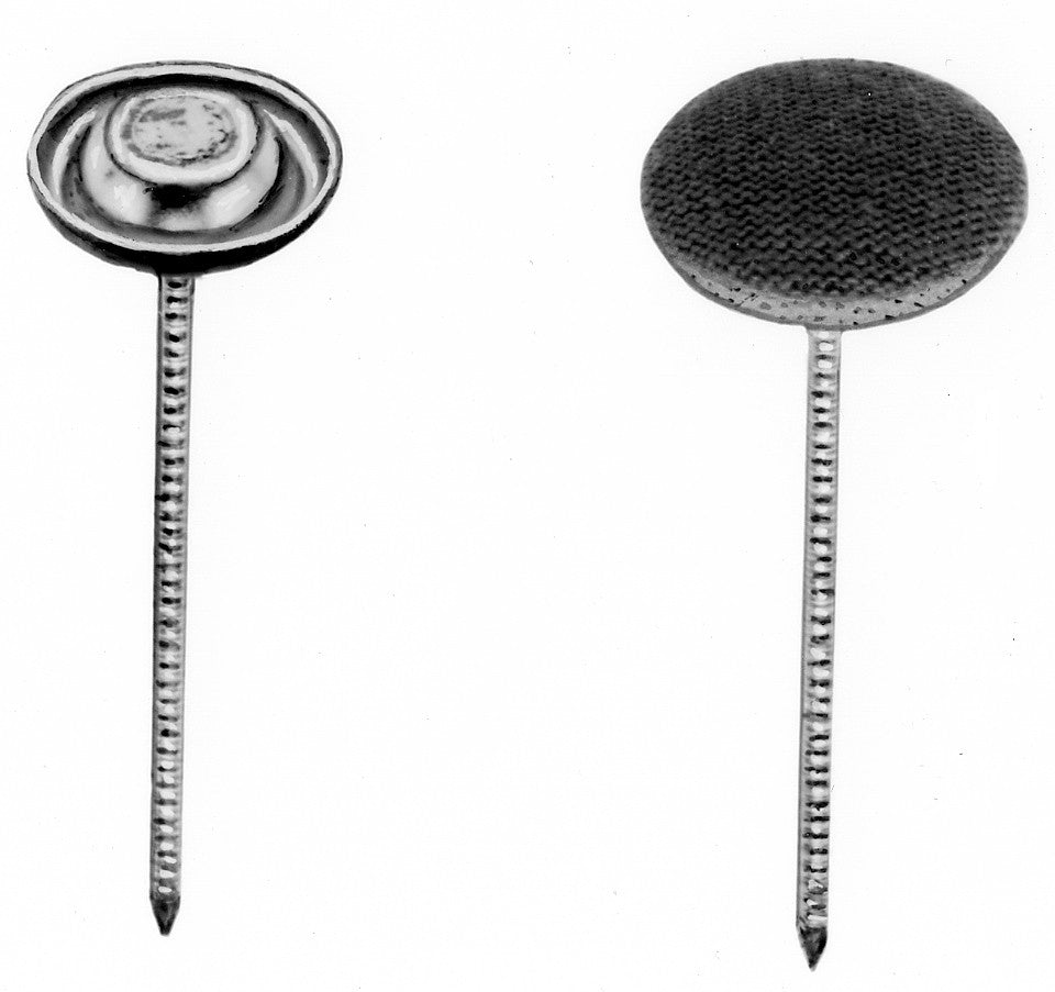 THREADED NAIL BUTTONS #22 W/ 2 INCH NAIL
