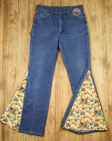 Wrangler Bell Bottoms-Flower Child
