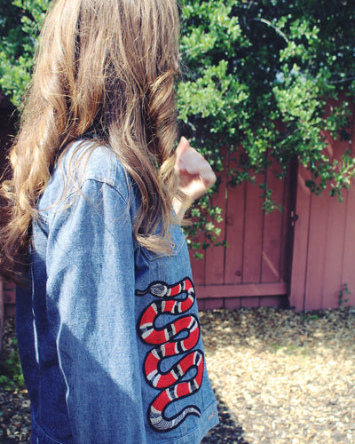 Denim Snake Jacket M/L