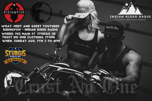 2020 Sturgis Motorcycle Rally with Trust No One Clothing