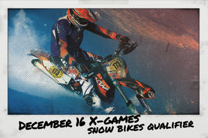X-Games Snow Bikes Qualifying Event