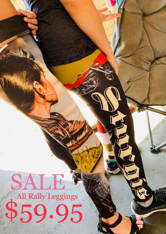 Trust No One 80th Anniversary Sturgis Motorcycle Rally Leggings