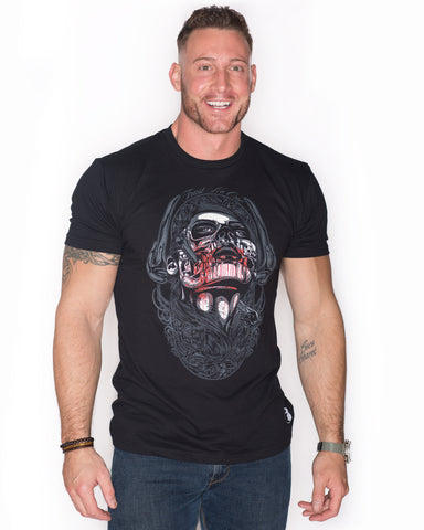 Mens Gents Betrayal Black Graphic crew Neck Shirt T-Shirt cotton tee style