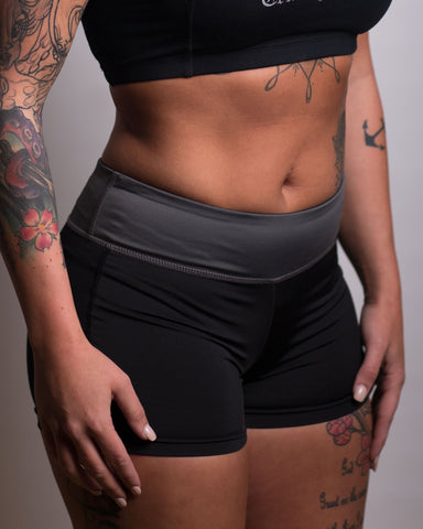 Women's Trust No One Yoga Shorts