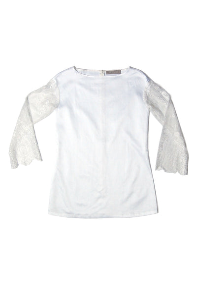 Boat Neck Top _White (2 colors)
