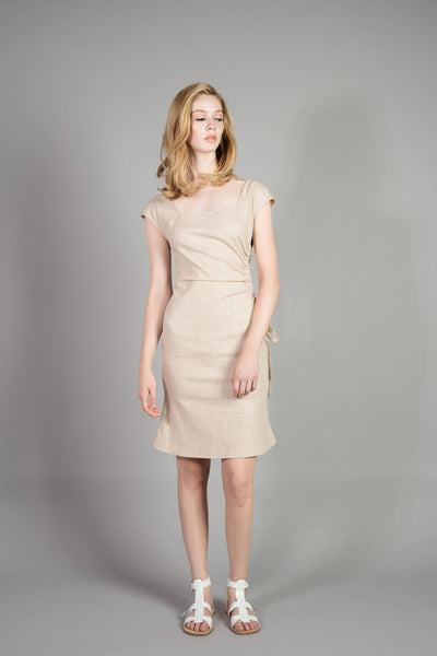 Waist-point Slim Dress