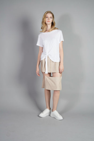 Unbalanced Tied Top (2 colors)