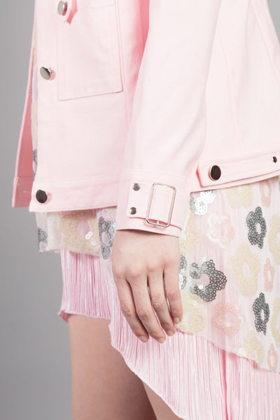 Panel-linked jacket