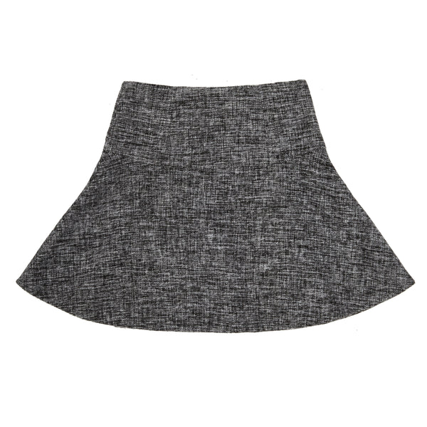Yoke Mini Flare Skirt