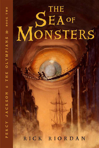 Percy Jackson and The Olympians, #2 : Sea of Monsters