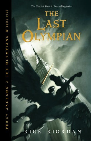 Percy Jackson and the Olympians, #5: The Last Olympian