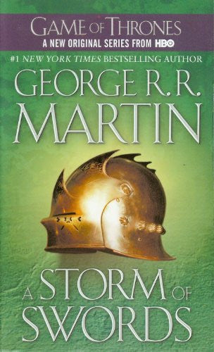 A Song of Ice and Fire, #3: A Storm of Swords