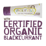 JACK N JILL Natural Tooth Paste - Blackcurrant