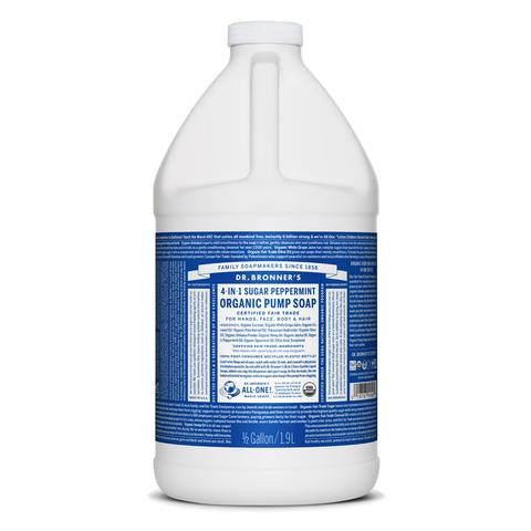 DR. BRONNER'S Organic Pump Soap - Peppermint