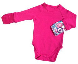 BAMBOO BUBBY Scratch Me Not Body Suit - Pink