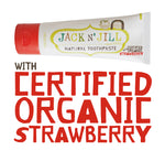 JACK N JILL Natural Tooth Paste - Strawberry
