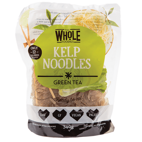 THE WHOLE FOODIES Kelp Noodles - Green Tea