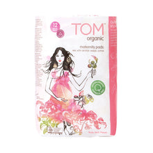 Load image into Gallery viewer, TOM ORGANIC - Maternity Pads x 12 - BUY 5 GET 1 FREE