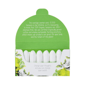 TOM ORGANIC - Tampons Regular x 16 - BUY 5 GET 1 FREE