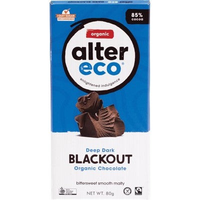 ALTER ECO Dark Blackout - Organic Chocolate