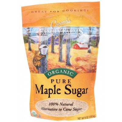 COOMBS FAMILY FARMS Maple Sugar 100% Pure 170g