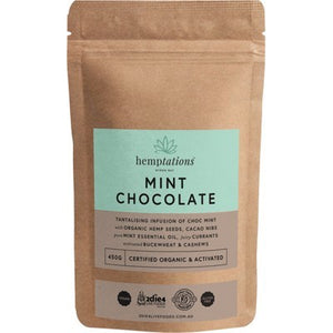 2DIE4 LIVE FOODS Hemptations Mint Chocolate 450g