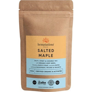 2DIE4 LIVE FOODS Hemptations Salted Maple 450g