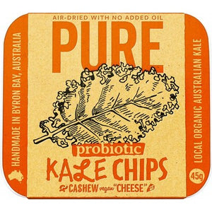 EXTRAORDINARY FOODS Kale Chips Cashew 'Cheese' 45g