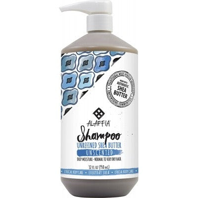 EVERYDAY SHEA Unscented Shampoo 950ml - Moisturising - For all hair types