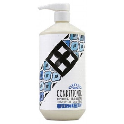EVERYDAY SHEA Unscented Conditioner 950ml - Moisturising - For all hair types