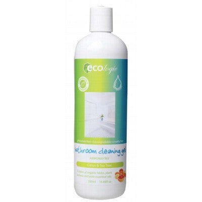 ECOLOGIC Citrus & Tea Tree Bathroom Cleaning Gel 500ml