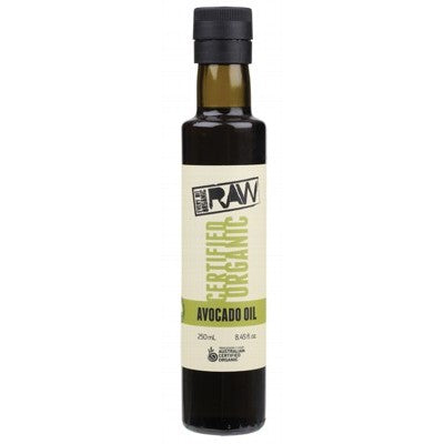 EVERY BIT ORGANIC RAW Avocado Oil Cold Pressed & Extra Virgin 250ml