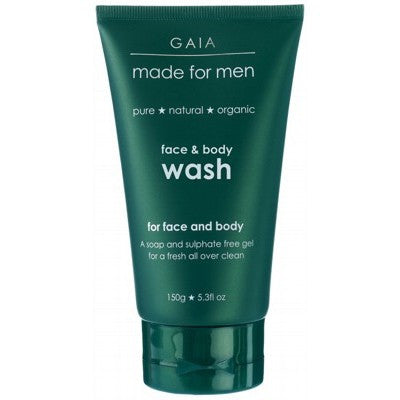 GAIA MADE FOR MEN Face & Body Wash 150g