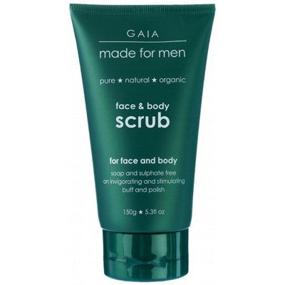 GAIA MADE FOR MEN - Face & Body Scrub 150g