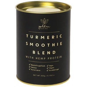 GOLDEN GRIND Turmeric Super Smoothie Blend With Hemp Protein 200g