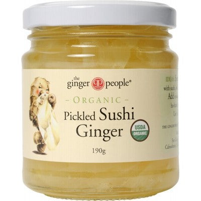 THE GINGER PEOPLE Pickled Ginger - 190g