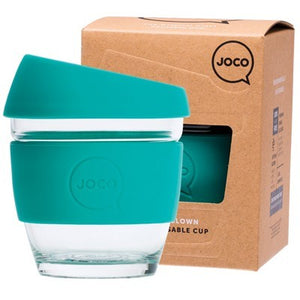 JOCO Reusable Glass Cup Small Mint - 236ml