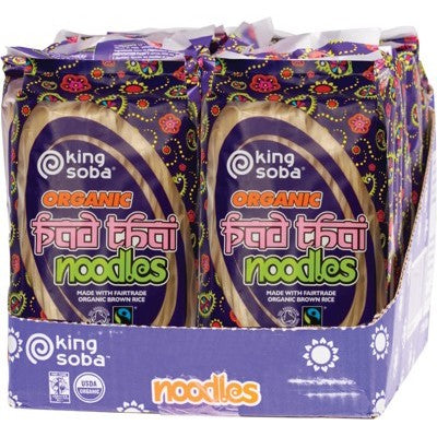 KING SOBA Pad Thai Noodles 12 x 250g (box only)