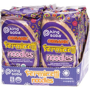 KING SOBA Vermicelli Noodles 12 x 250g (box only)