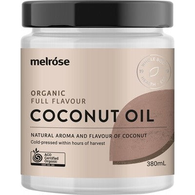 MELROSE Full Flavour Coconut Oil 380ml