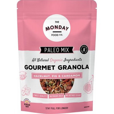 THE MONDAY FOOD CO. Paleo Granola Hazelnut, Fig & Cardamom 800g