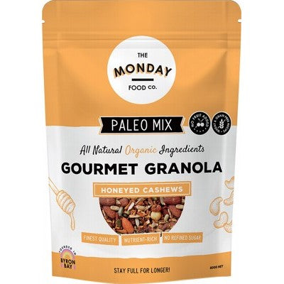 THE MONDAY FOOD CO. Paleo Granola Honeyed Cashews 800g