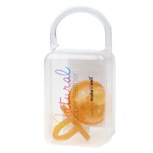 NATURAL RUBBER SOOTHER - Rounded Soother Twin Pack