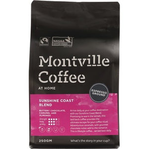 MONTVILLE COFFEE Sunshine Coast Espresso - 250g