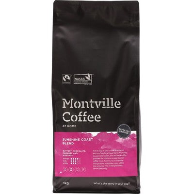 MONTVILLE COFFEE Sunshine Coast Espresso - 1kg