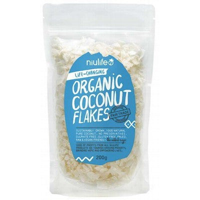 NIULIFE - Flaked Coconut 200g - BUY 5 GET 1 FREE