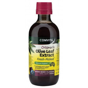 OLIVE LEAF Children's Mixed Berry Olive Leaf Extract