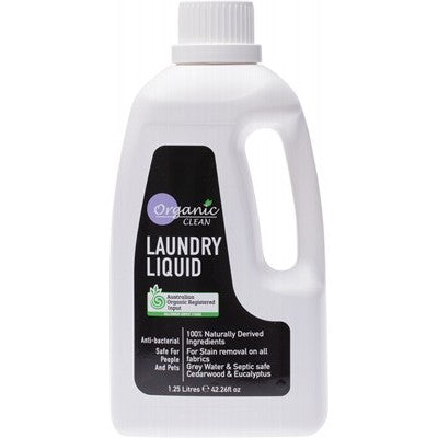 ORGANIC CLEAN Laundry Liquid Cedarwood & Eucalyptus 1.25L