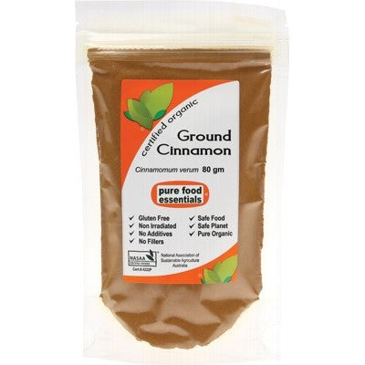PURE FOOD ESSENTIALS Cinnamon Powder 80g